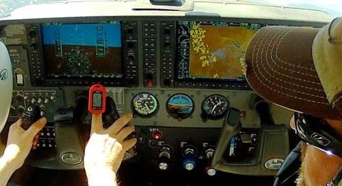 Hypoxia Symptoms and Avoidance - above 12,500 feet - Mountain Flying - NorCal - ATC audio