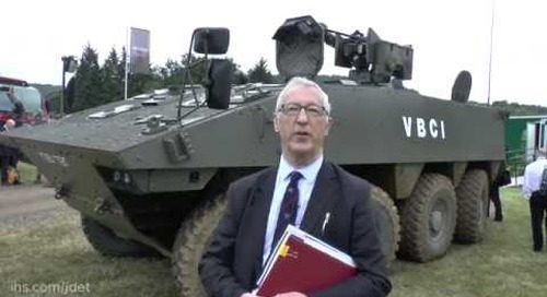 DVD 2016: IHS Jane's talks about Nexter System's VBCI as a contender for the British Army