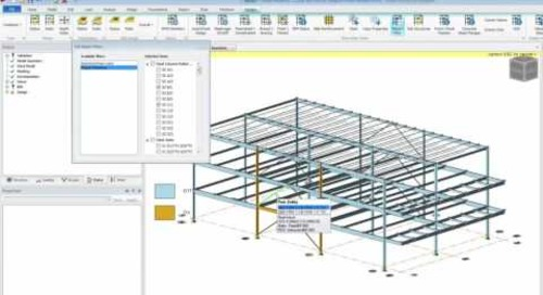 Generating Reports with Tekla Structural Designer