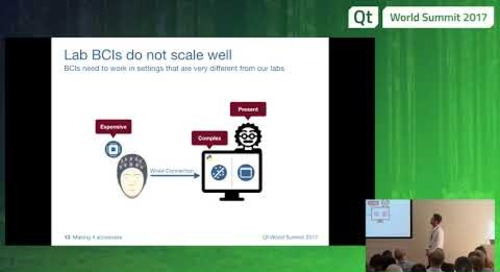 Max Planck Institute – Communicating with Thoughts, Matthias Hohmann at QtWS17
