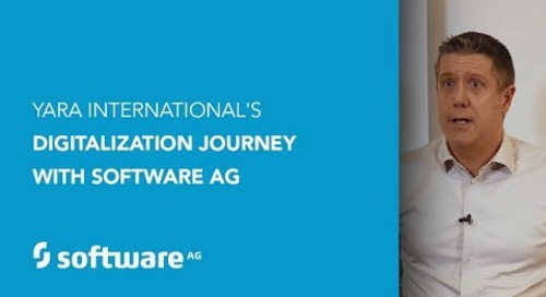 Yara International's Digitalization Journey with Software AG