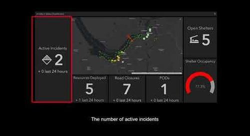 Esri Canada's Incident Status Dashboard