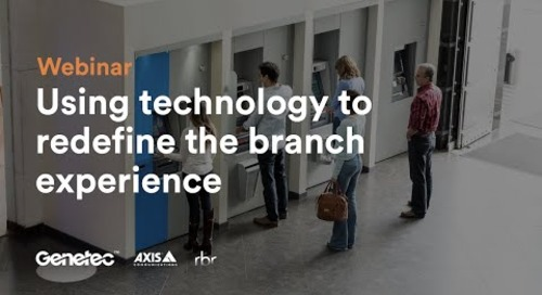 Using technology to redefine the branch experience