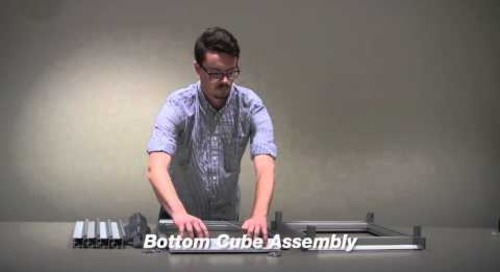 FH1490 Extrusion and FH1490 Knuckle Joint Cube Assembly Video