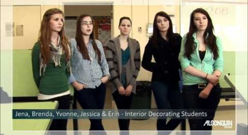 Student Testimonial - Interior Decorating Program
