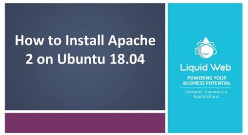 How to Install Apache 2 on Ubuntu 18.04