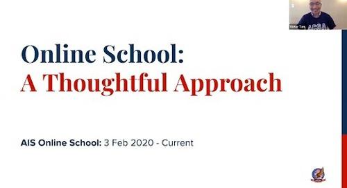 Online School: A Thoughtful Approach