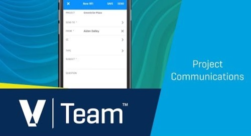 Team Project Communications