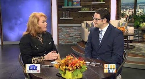 AMNW Family Matters Interviews Functional Neurosurgeon Seth Oliveria
