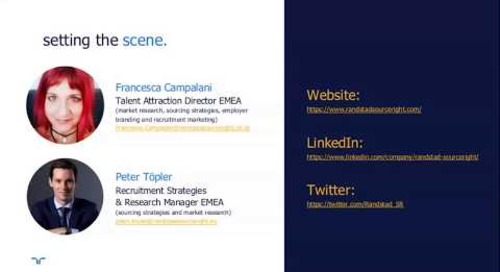 talent navigator webinar: Google for jobs in UK