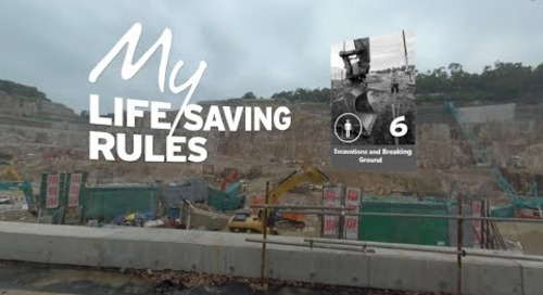 Excavations and Breaking Ground [Mobile] – Intro to My Life Saving Rules in 360