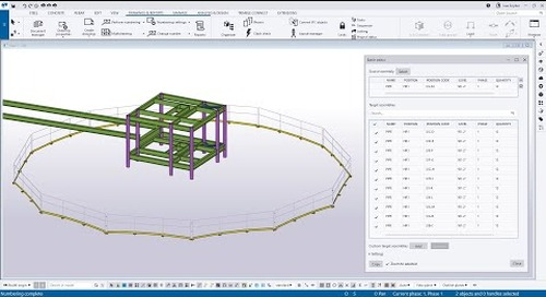 Tekla Structures 2021 - Batch Editor