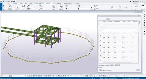 Tekla Structures 2021 - Batch Editor
