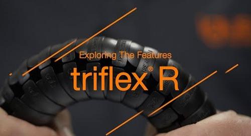 Exploring the features - triflex® R for robot cable management