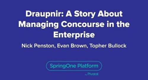 Draupnir: A Story about Managing Concourse in the Enterprise