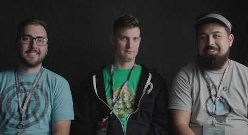 MasterControl Hackers on the Hackathon