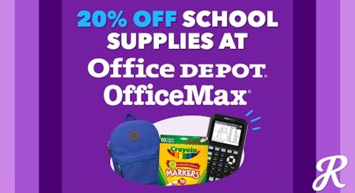 The Deal Download With Office Depot OfficeMax: Back-to-School Savings From Office Depot OfficeMax