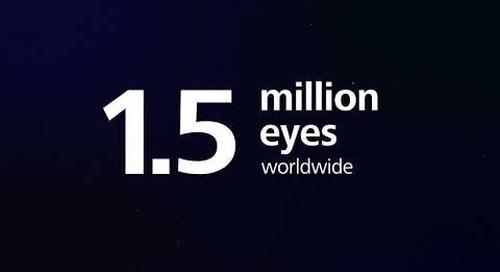 ReLEx SMILE – Over 1.5  million eyes treated worldwide