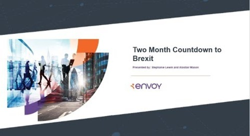 Two Month Countdown to Brexit:  Next Steps for EU Nationals in the U K