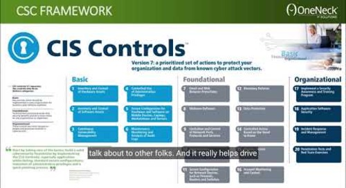 CIS Controls - Why They Help.