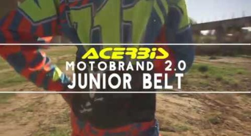 Jr. Motobrand 2.0 Kidney belt