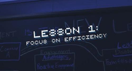 #OneTeam Lesson #1: Focus on Efficiency