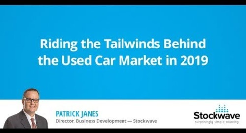 Riding the Tailwinds Behind the Used Car Market in 2019