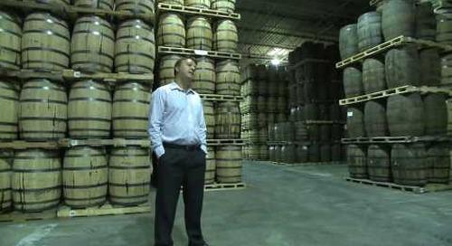 Diageo whisky plant - Gimli, Manitoba