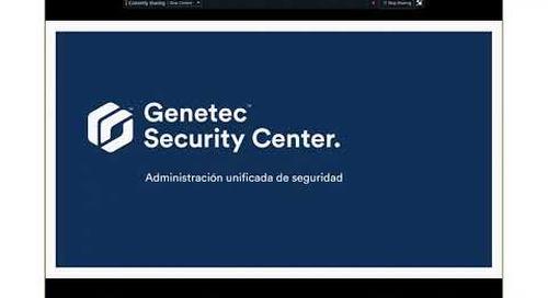 Capacitación de ventas de Genetec - Sesión #1: Portafolio de productos