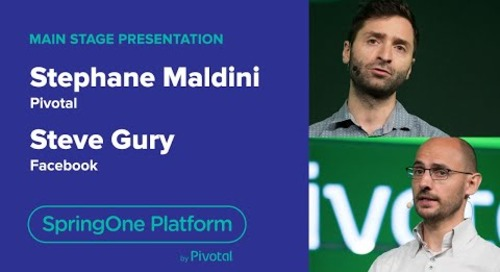 Stephane Maldini, Pivotal & Steve Gury, Facebook—Reactive with RSocket, SpringOne Platform 2018