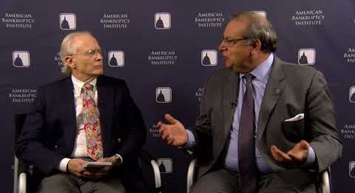 Bill Rochelle interviews Prof. Jack Williams at the 2017 NCBJ Conference