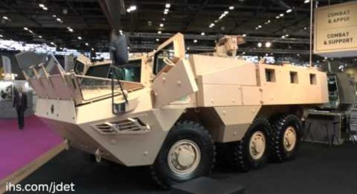 Eurosatory 2016 Renault Trucks Defense VAB Mk 3 armoured personnel carrier