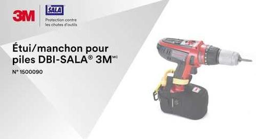 Comment utiliser l'Étui/manchon pour piles DBI-SALA® 3M correctement