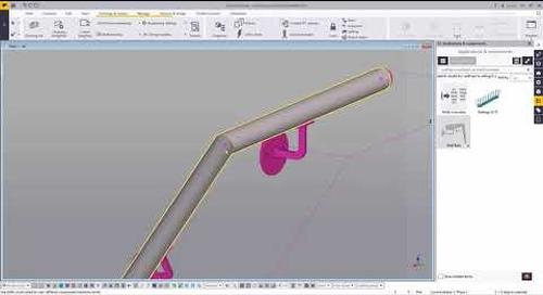 Exporting Rails to Bending Equipment