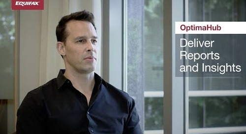 Work more Effectively with Marketing Stakeholders - OptimaHub from Equifax