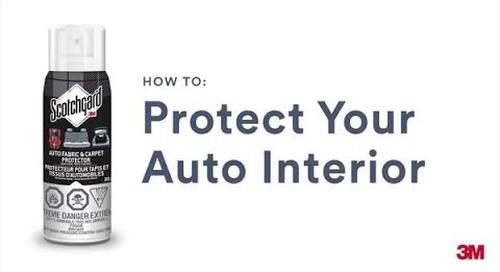 Scotchgard™ Auto Fabric & Carpet Protector – How to Apply
