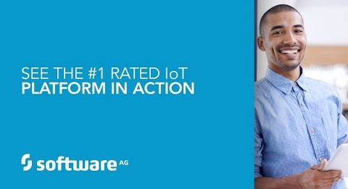 Demo: See the #1 Rated IoT Platform In Action