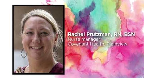 2021 Values in Action Award: Rachel Prutzman, RN