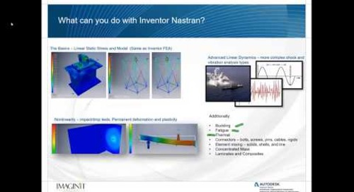 Nonlinear Static Analysis with Inventor Nastran