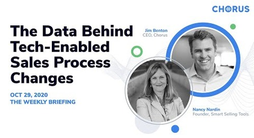 The Weekly Briefing  - The Data Behind Tech-Enabled Sales Process Changes