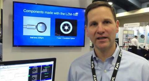 Mike talking LAZERMaster at Photonics West 2016