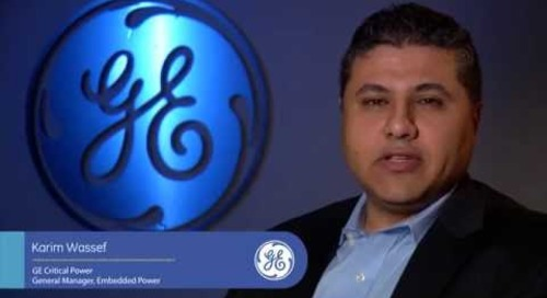 GE Critical Power - Embedded Power Business Overview
