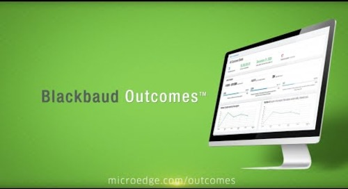 Introducing Blackbaud Outcomes