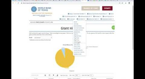 Demo: Grantmaking within The Cloud Solution for Community Foundations