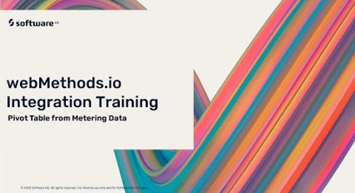 Exporting data from Metering   webMethods.io Integration Tutorials