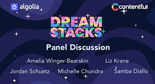 DreamStacks #1: Teaching and learning on stacks - by Algolia & Contentful