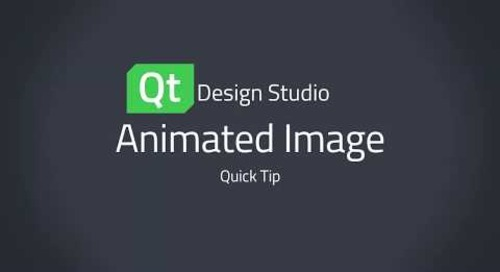 Qt Design Studio QuickTip: Animated Image