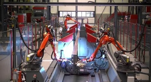 Voortman - The Fabricator   Fully automatic assembling and welding