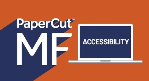 French Canadian PaperCut MF Accessibility Video