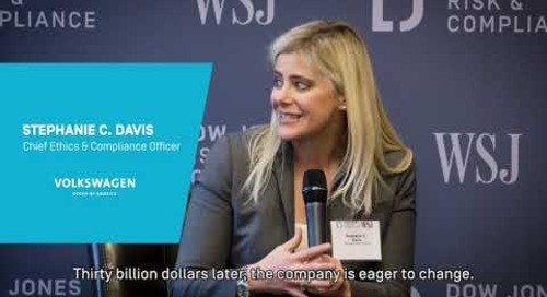 NYC Breakfast Briefing: The Future of Corporate Compliance